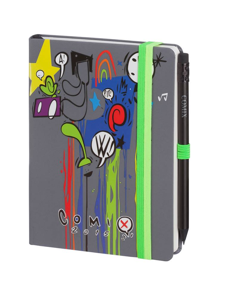 "AGENDA COMIX ""POP"" custom by WILLOW 12 mesi, day mini"